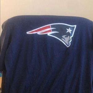 New England patriots dri-fit on field T-shirt